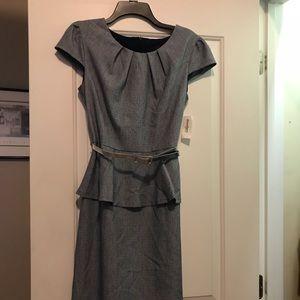 Lovely belted light dress
